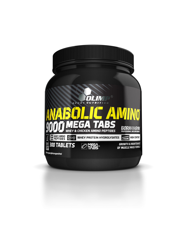 olimp amino anabolic 9000 mega tabs 300 tabl