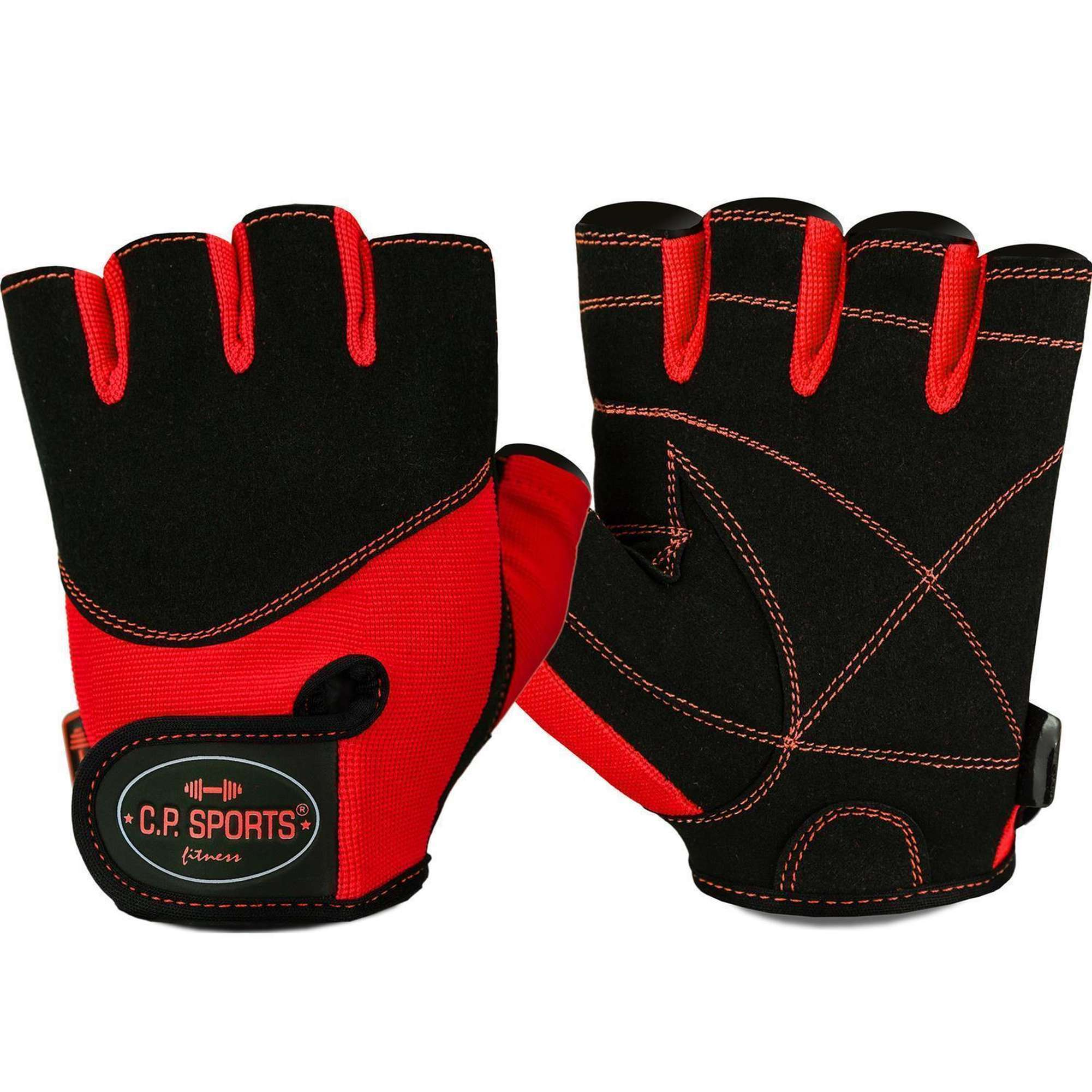 C.P Bodybuilding Sports Iron-Handschuh Komfort farbig Trainingshandschuh Fitness Handschuhe f/ür Damen und Herren Krafttraining Fitnesshandschuh