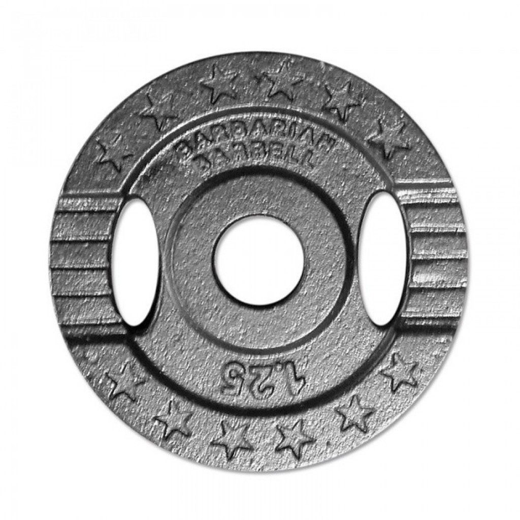 Barbarian Barbell Cast iron weight plates 30mm - 1,25kg