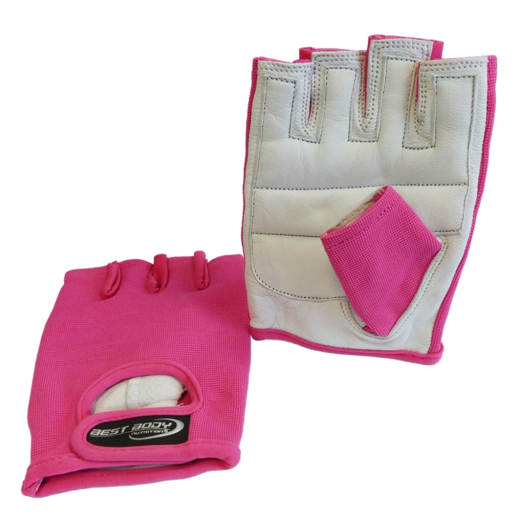 Fitness Gloves 'Power' pink - 1 pair