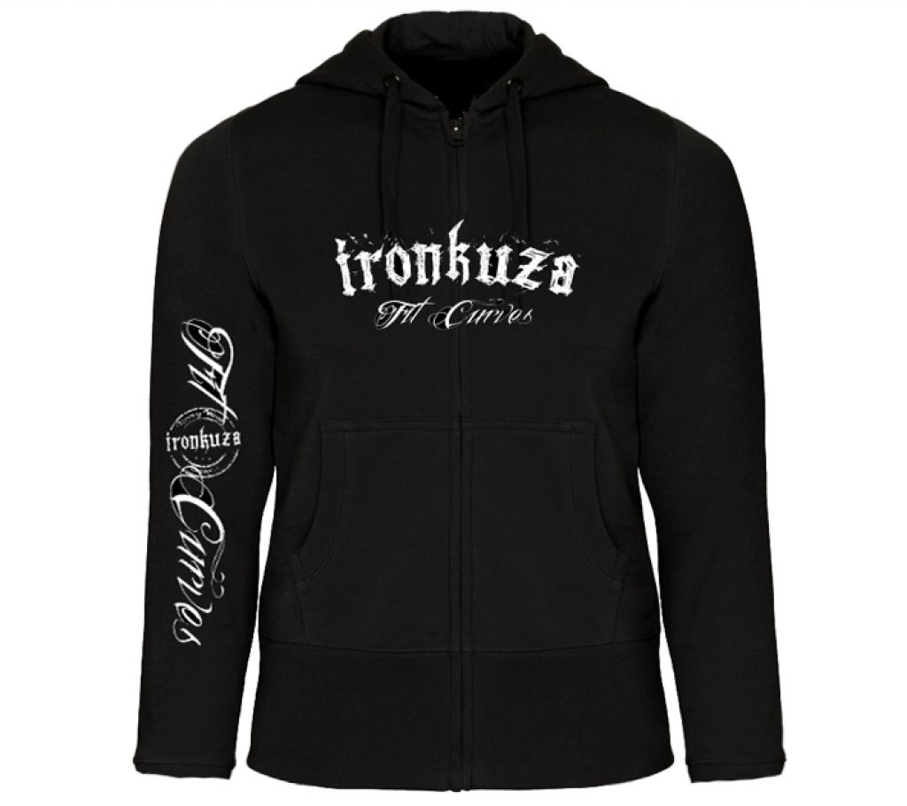 Ironkuza Woman Zip Hoody 'Fit Curves' No.3