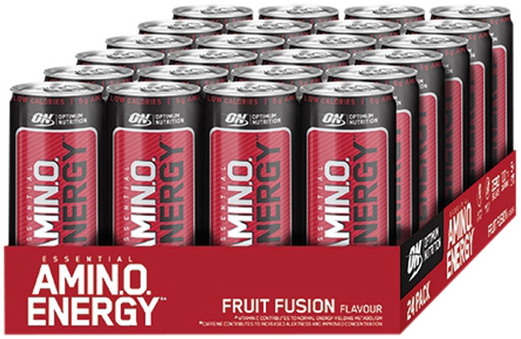 Amino Energy Drink - 24x330ml Dose (Optimum Nutrition)