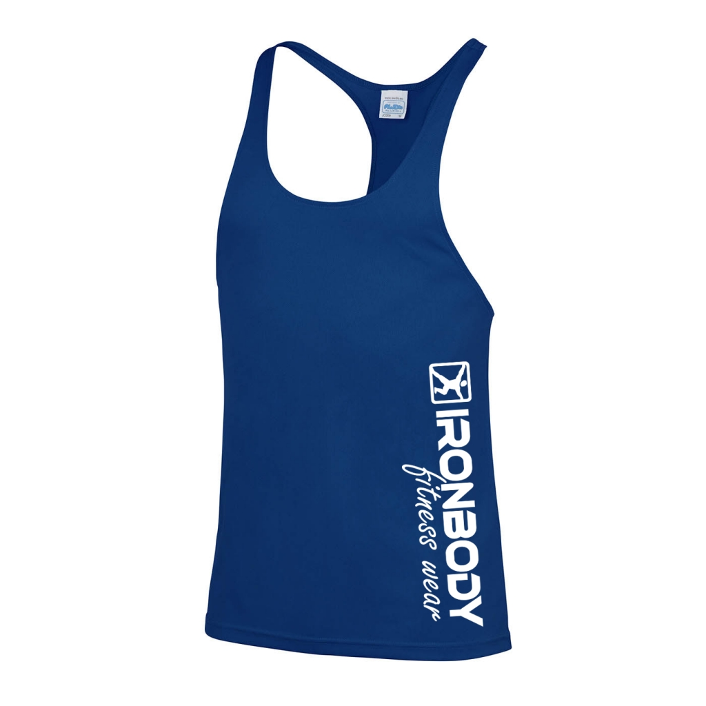 Cool Muscle Tank Top blue