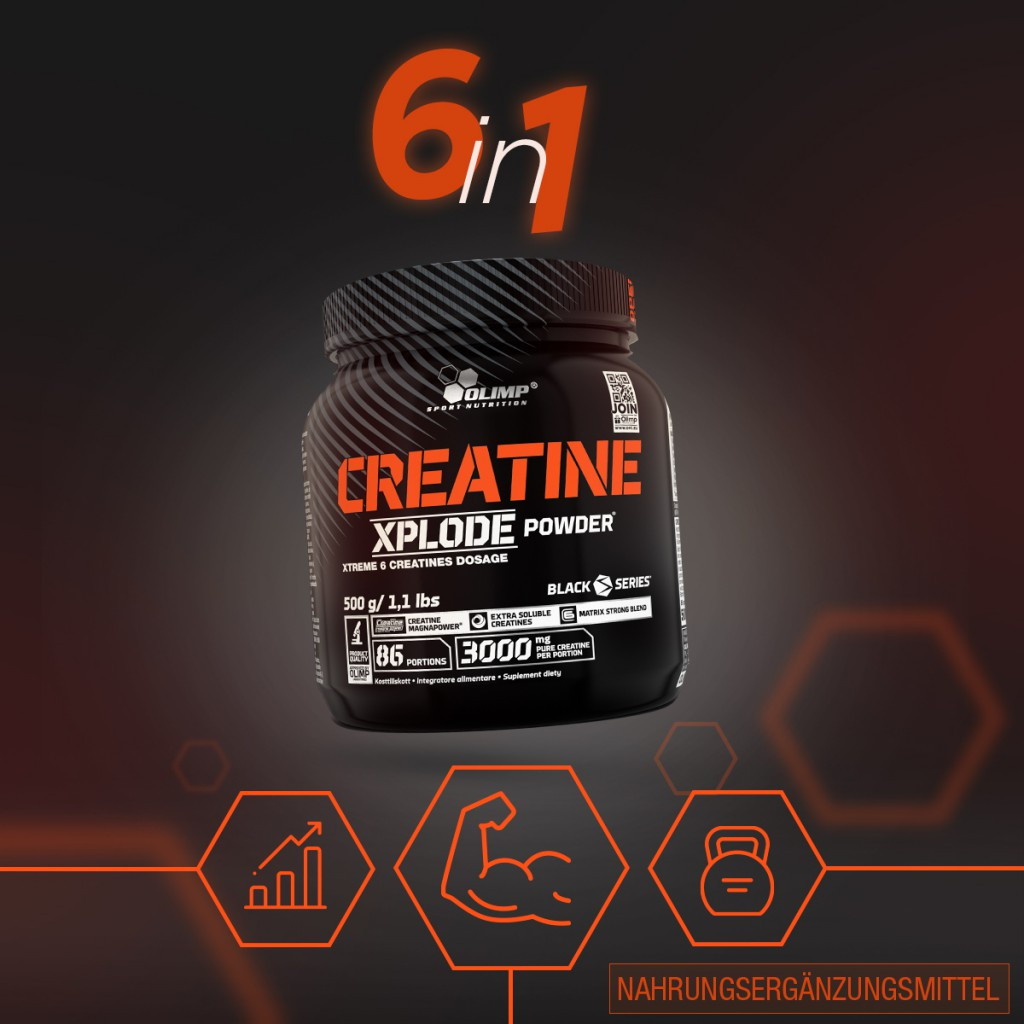 Creatine Xplode - 500g powder (Olimp)