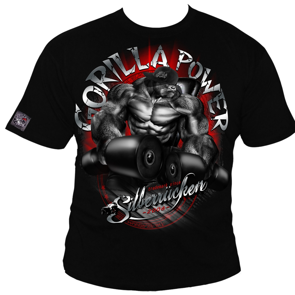 Gorilla Power 10 T-Shirt