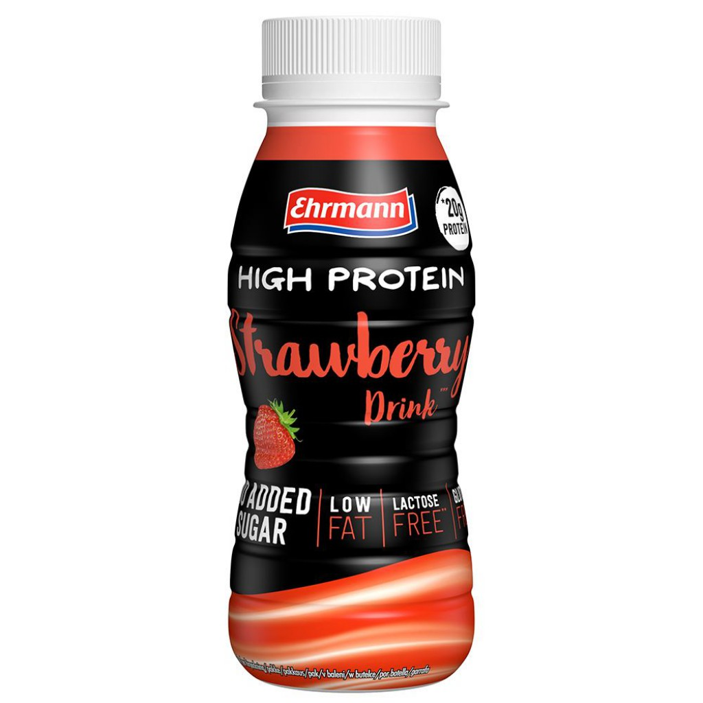 High Protein Drink - 250ml bottle (Ehrmann)