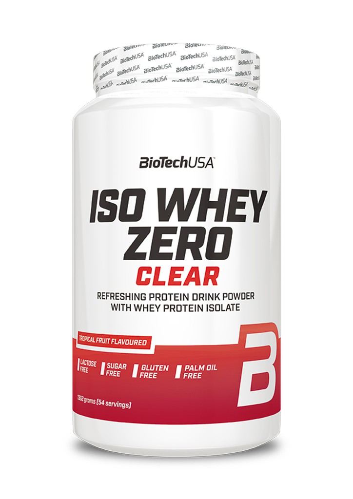 Iso Whey Zero Clear - 1362g Dose (Biotech USA)