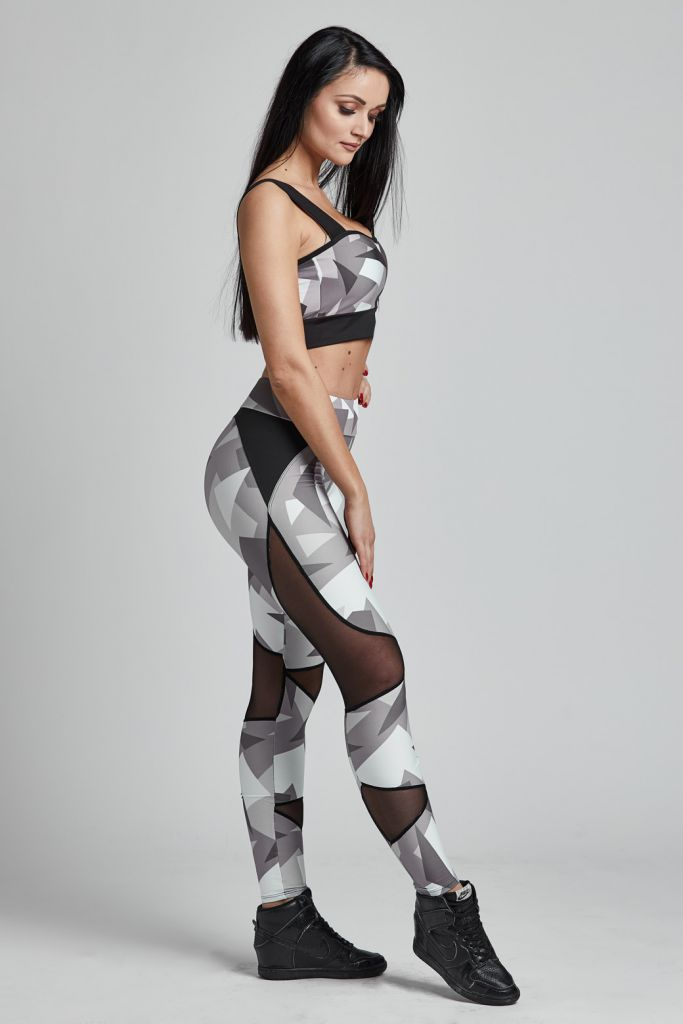 Leggins Brave Military Grey (Gym Provocateur)