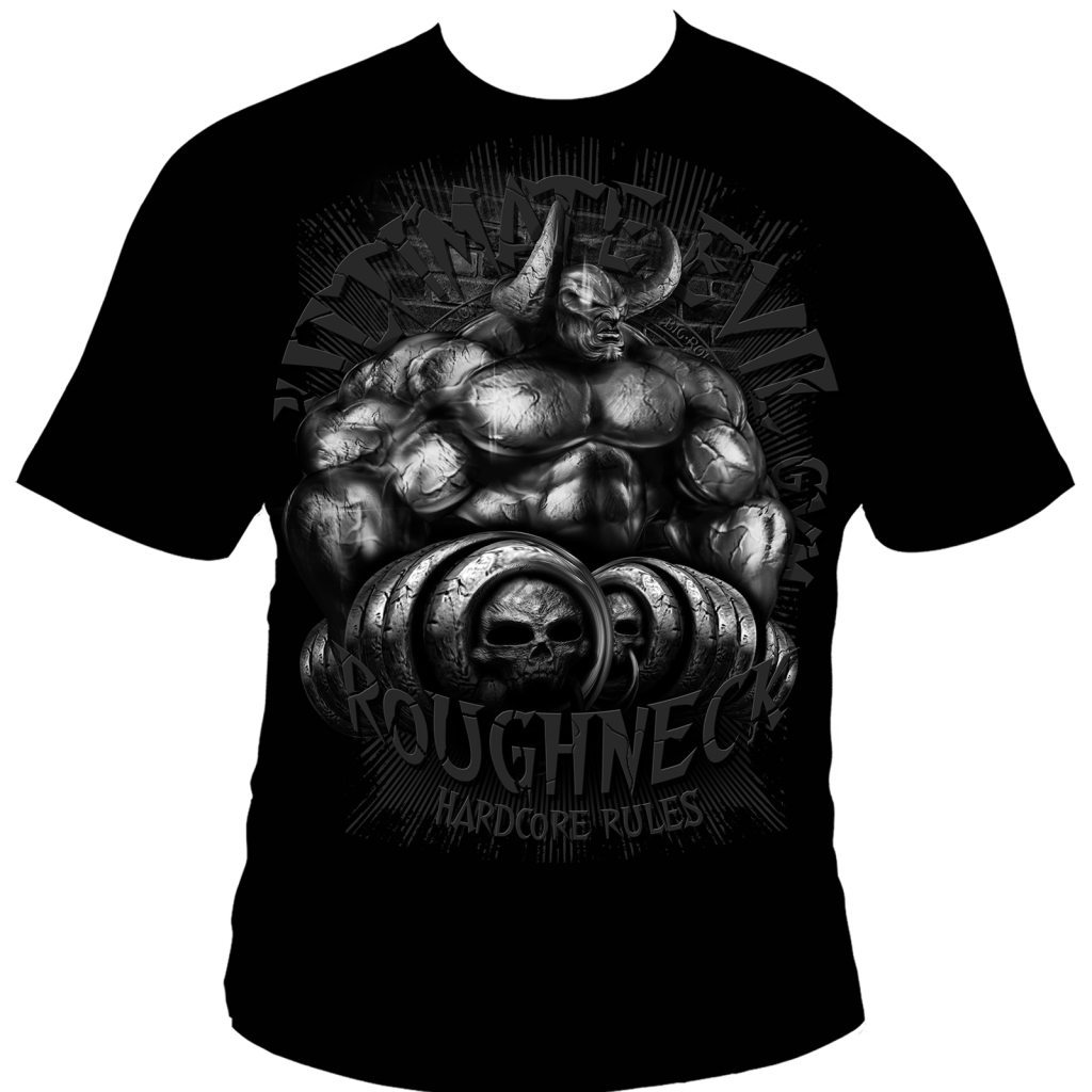 Roughneck T-Shirt Monster Shrugs