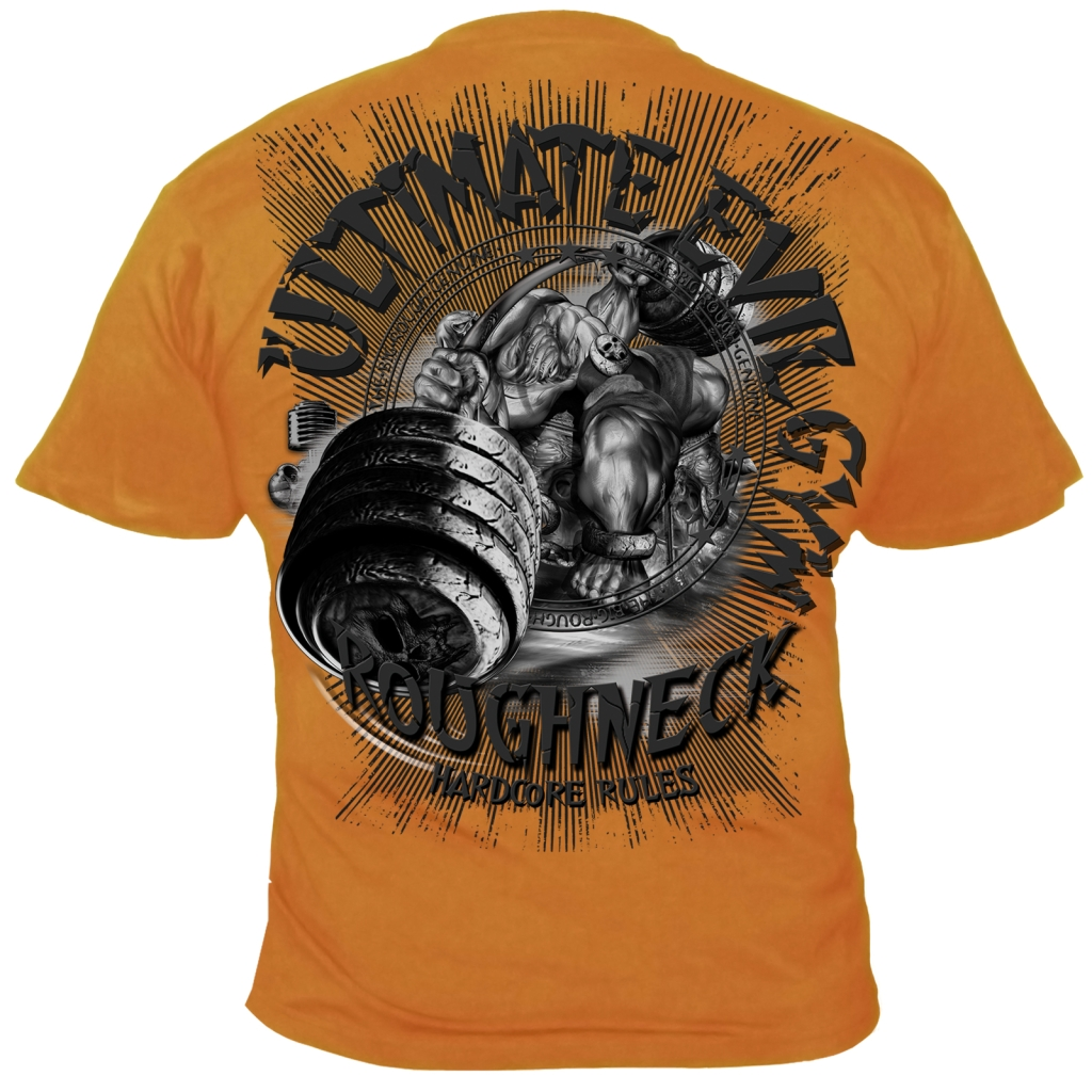 Roughneck T-Shirt Ultimate Bench orange