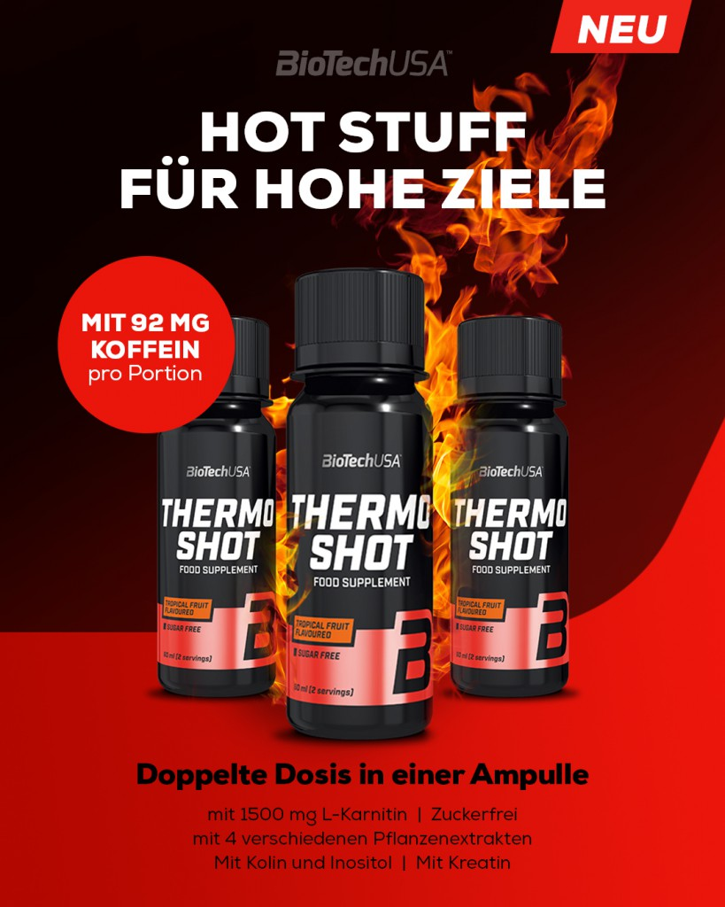 Thermo Shot - 20x60ml Flaschen (Biotech USA)