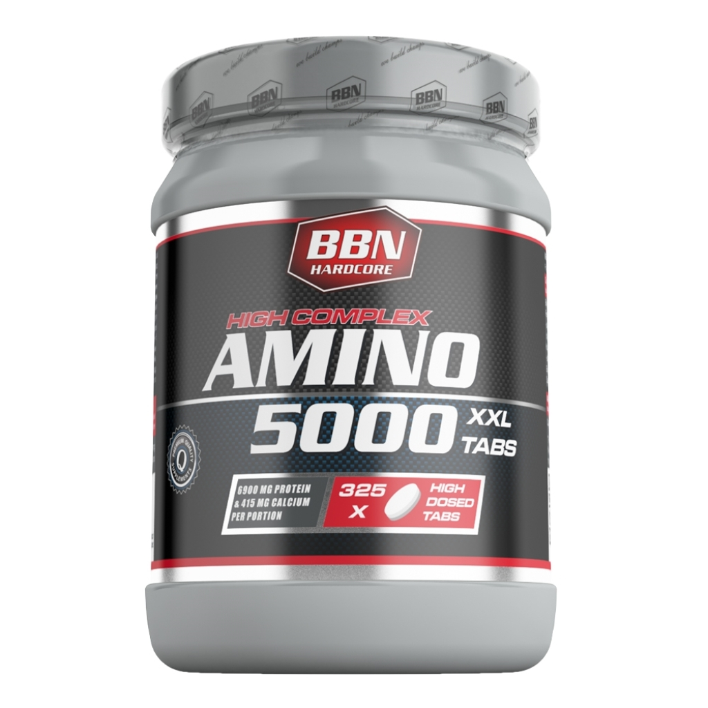 Hardcore Amino 5000 - 325 Tabletten (Best Body Nutrition)
