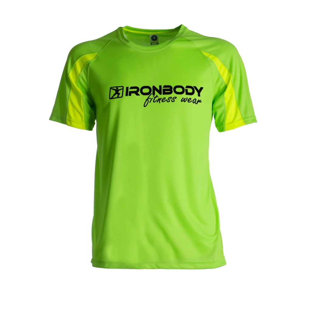 Function & Fitness T-Shirt green/yellow (Ironbody)