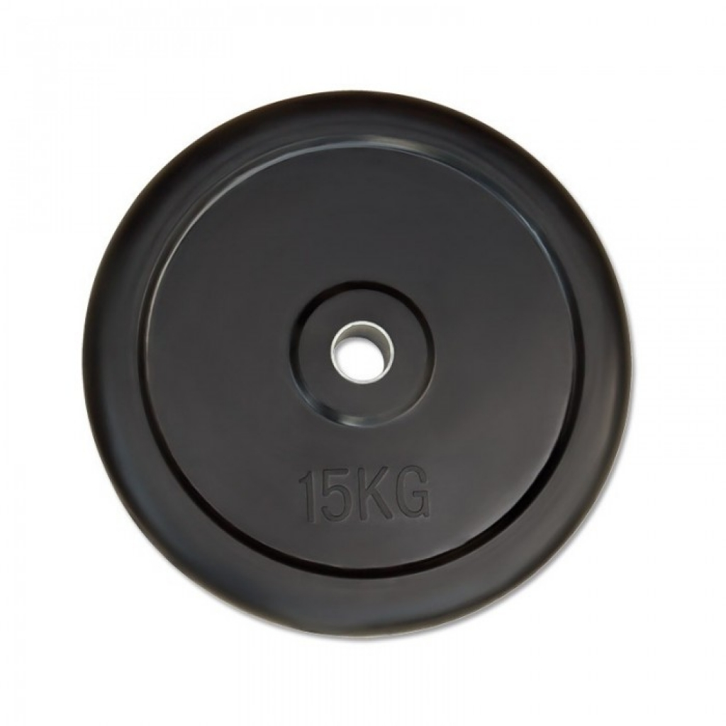 Weight plate rubber 30mm - 15kg