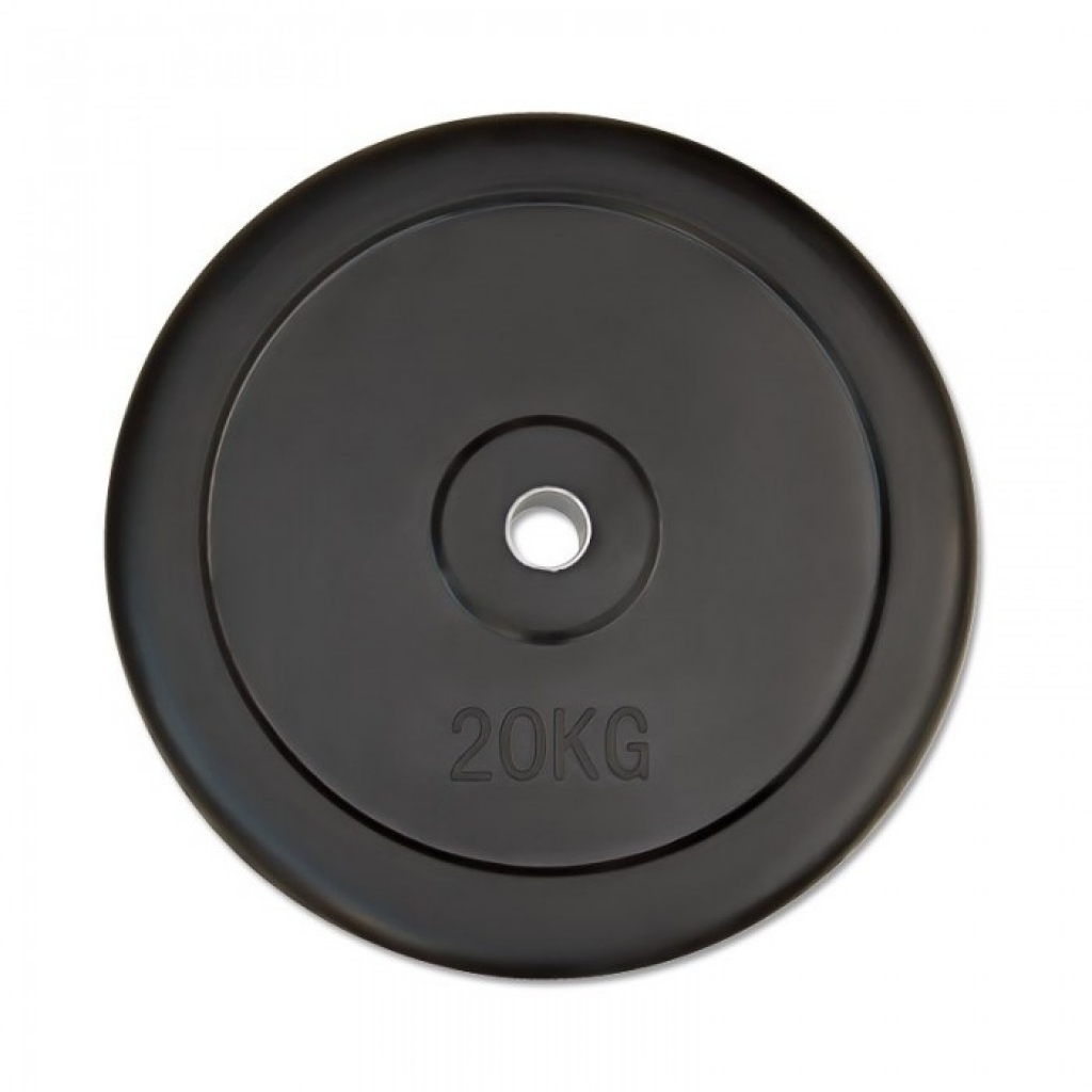 Weight plate rubber 30mm - 20kg