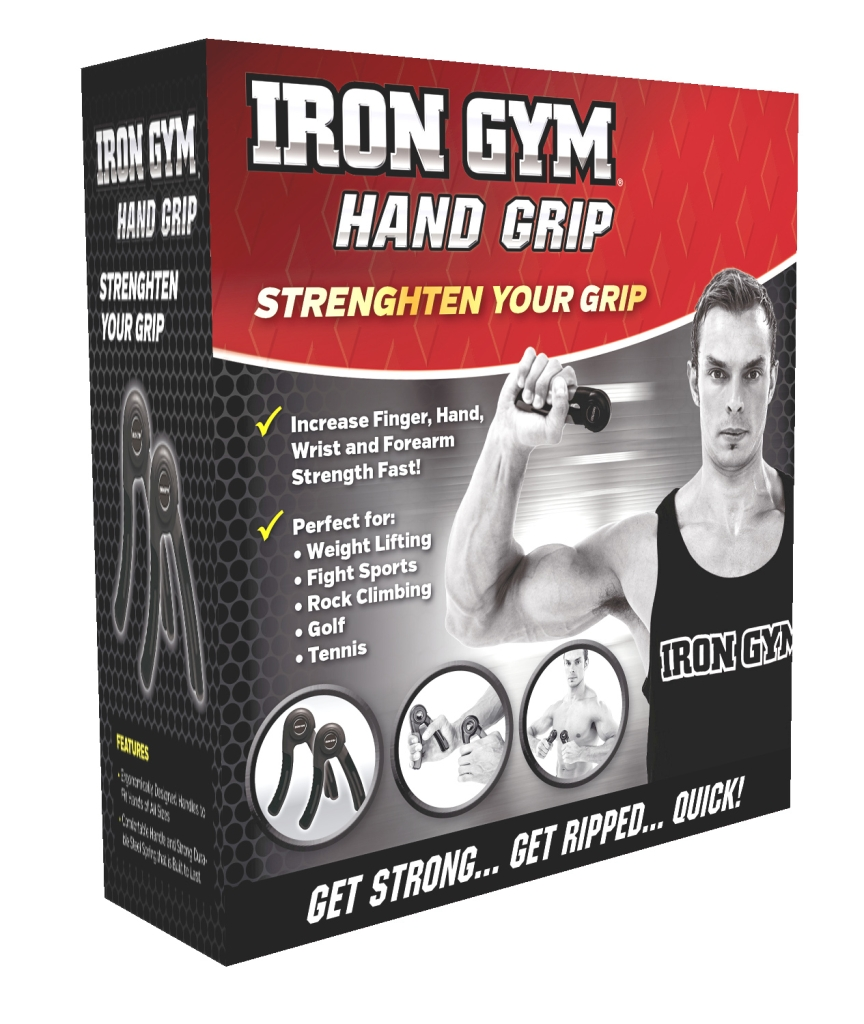 Iron Gym Hand Grip Handtrainer - 1 Paar