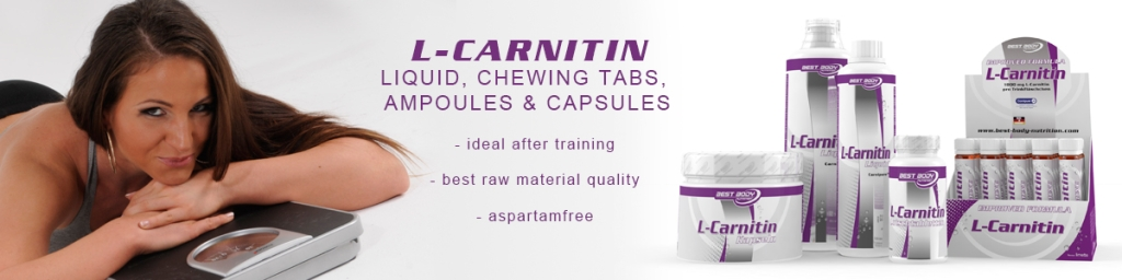 L-Carnitin - 20 Trinkampullen (Best Body Nutrition)