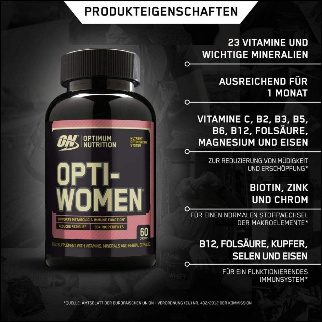 Opti-Women - 60 Kapseln (Optimum Nutrition)